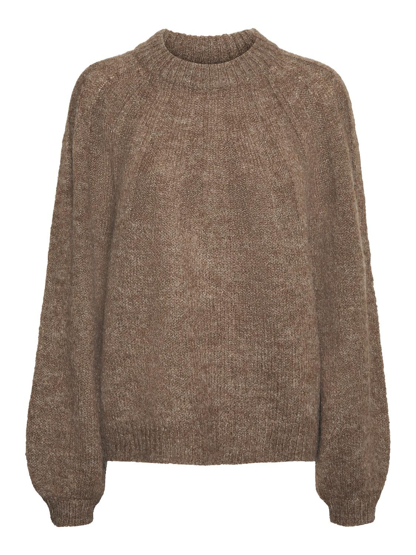 Lyse brun genser Noisy May