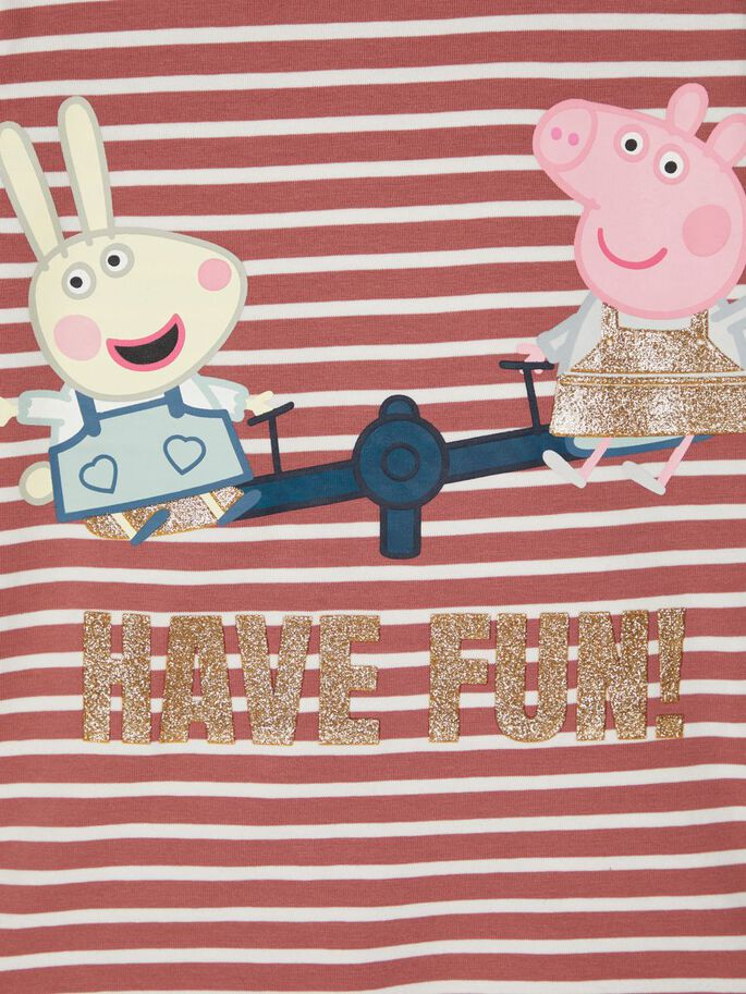 Peppa Gris genser striper