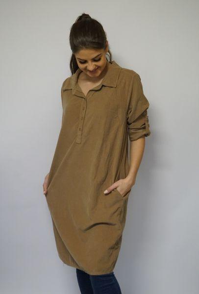 Brun kjole fra Pepper