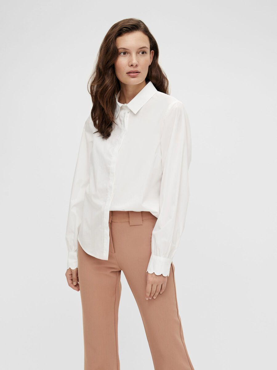 Hvit skjorte fra Yas