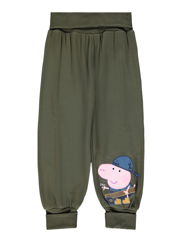 Grønn Peppa Gris bukse