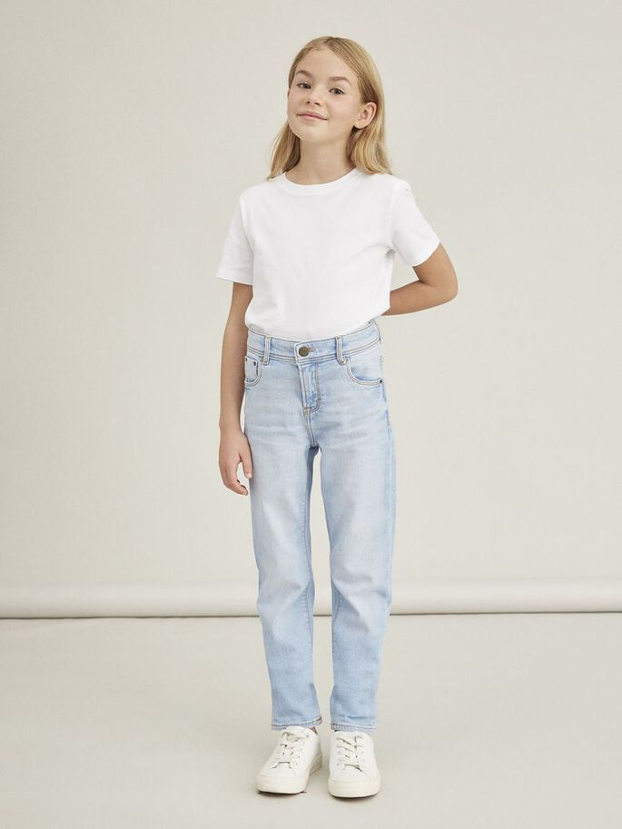 "Mom-jeans til barn – Name It ""Mom-jeans"" Rose  – Mio Trend"