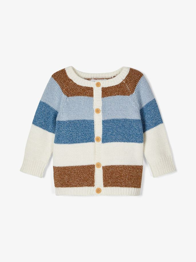 Stripete cardigan baby – Name It stripete cardigan  – Mio Trend