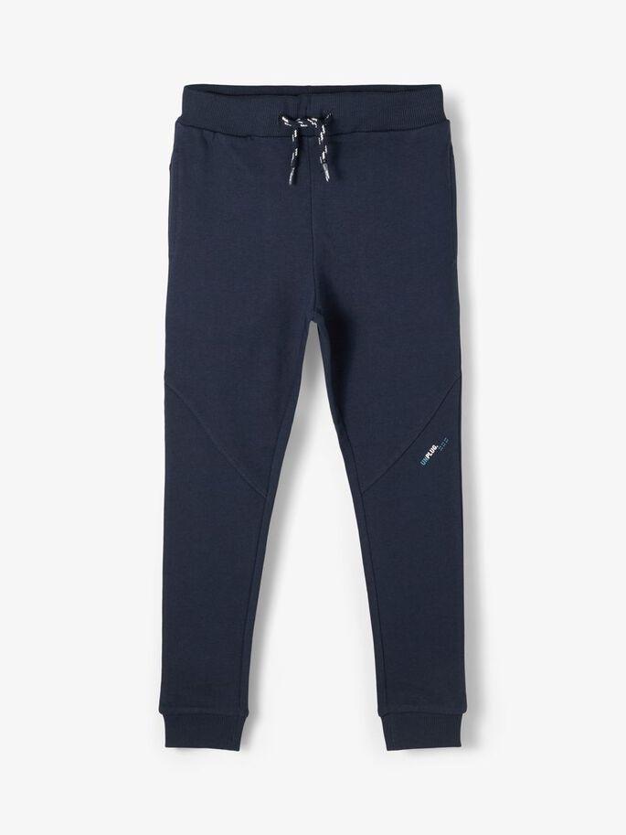 Blå joggebukse Borge