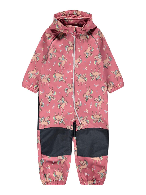 Softshelldress med enhjørninger – Name It rosa softshelldress Unicorn – Mio Trend