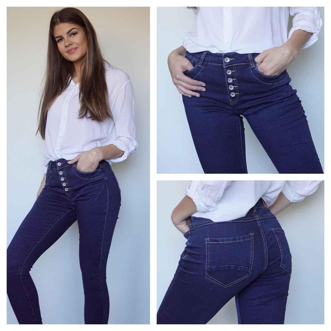 Pepper jeans og olabukse
