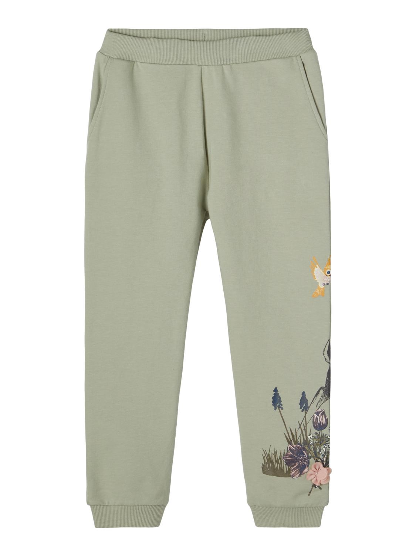 Mintgrønn bukse Bambi – Name It grønn joggebukse Bambi – Mio Trend