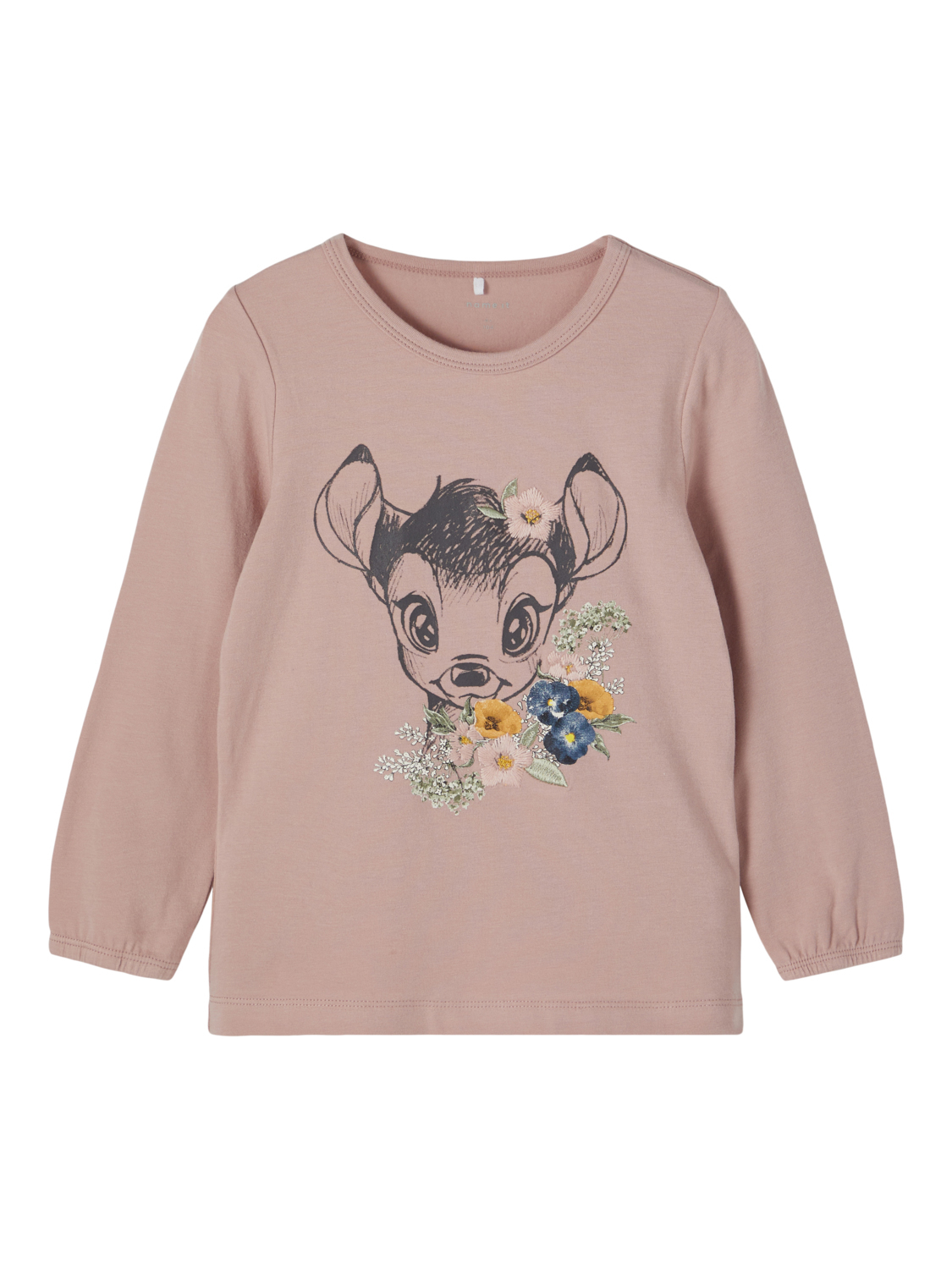 Name It genser Bambi jente – Name It rosa genser Bambi – Mio Trend