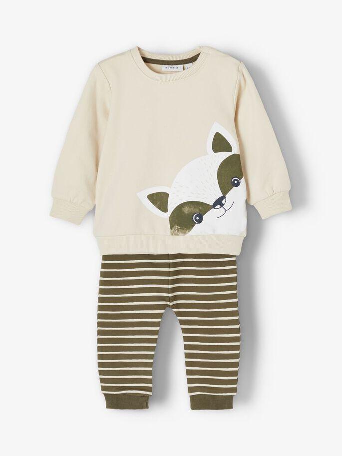 Name It genser + bukse – Name It  genser +bukse beige – Mio Trend