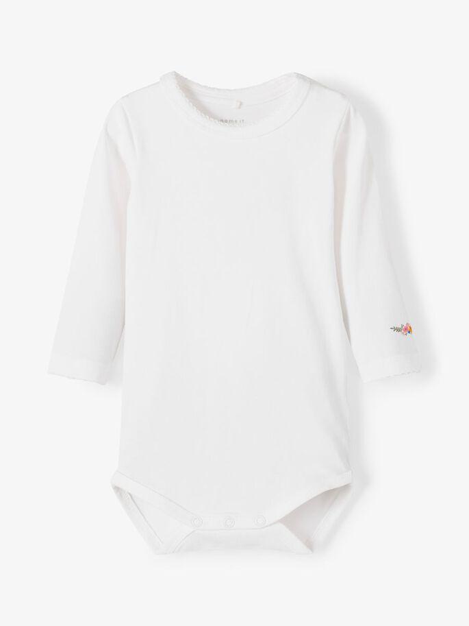 Hvit body Berta
