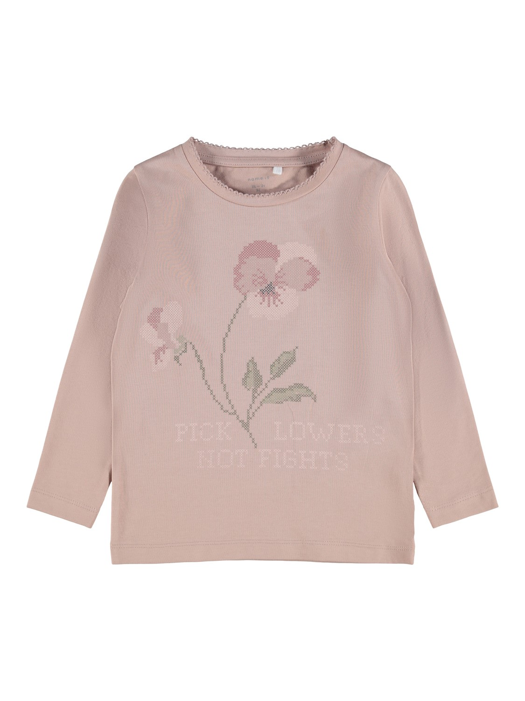 Rosa genser Daflora – Name It rosa genser Daflora – Mio Trend