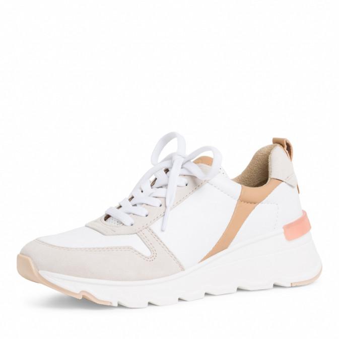 sneaker i hvit/comb Tamaris