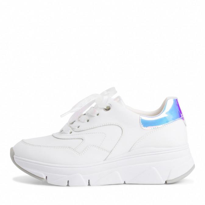 Tamaris white/gloss sneaker