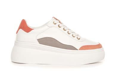 Hvit sneaker Duffy