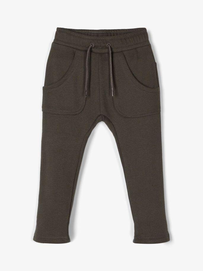 Lil`Atelier joggebukse grå