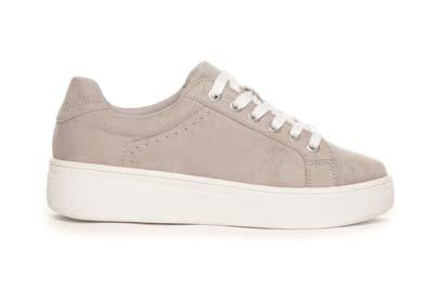 Beige sneakers fra Duffy