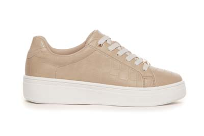 Sneakers med crocopreg