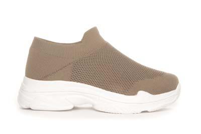 Slipin-sneaker beige