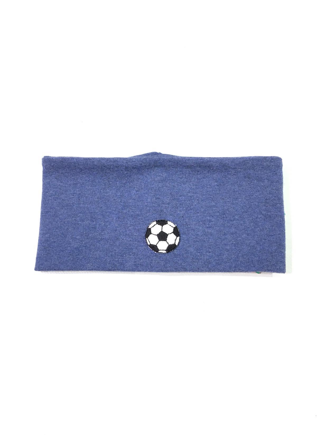 Kivat blå ørevarmer fotball