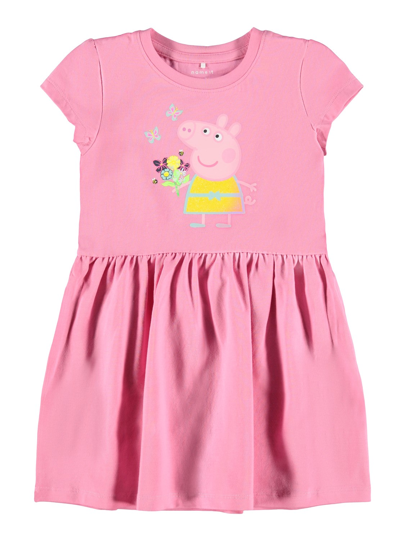 Rosa Peppa Gris kjole