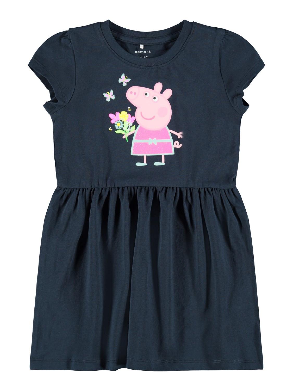 Blå kjole Peppa Gris