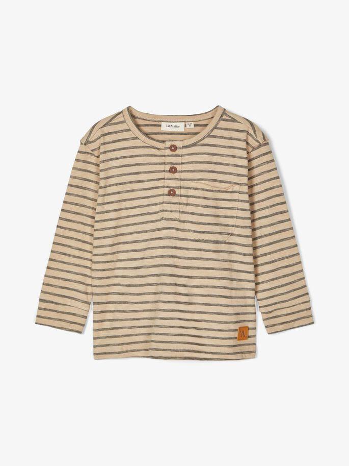 Beige genser striper Lil`Atelier