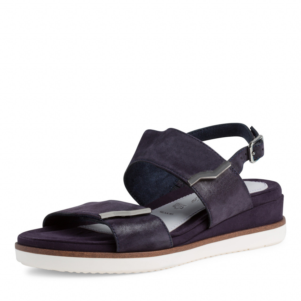Tamaris marineblå sandal