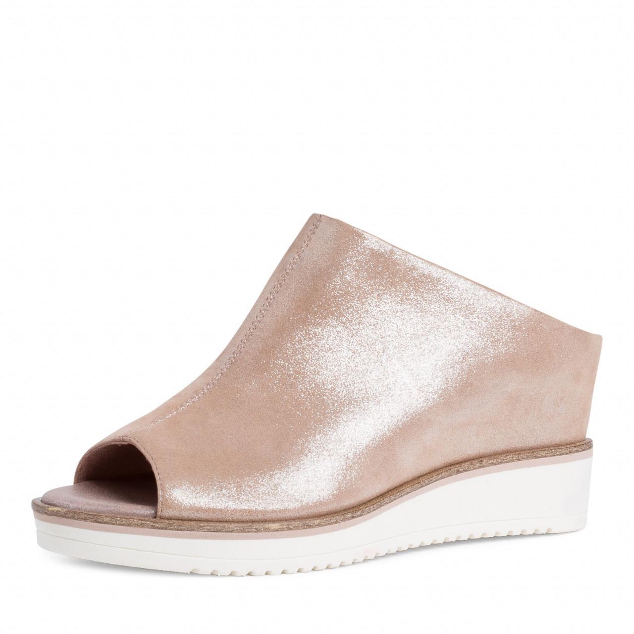 Rosa sandaler fra Tamaris – Tamaris lys rosa sandal med kilehel – Mio Trend