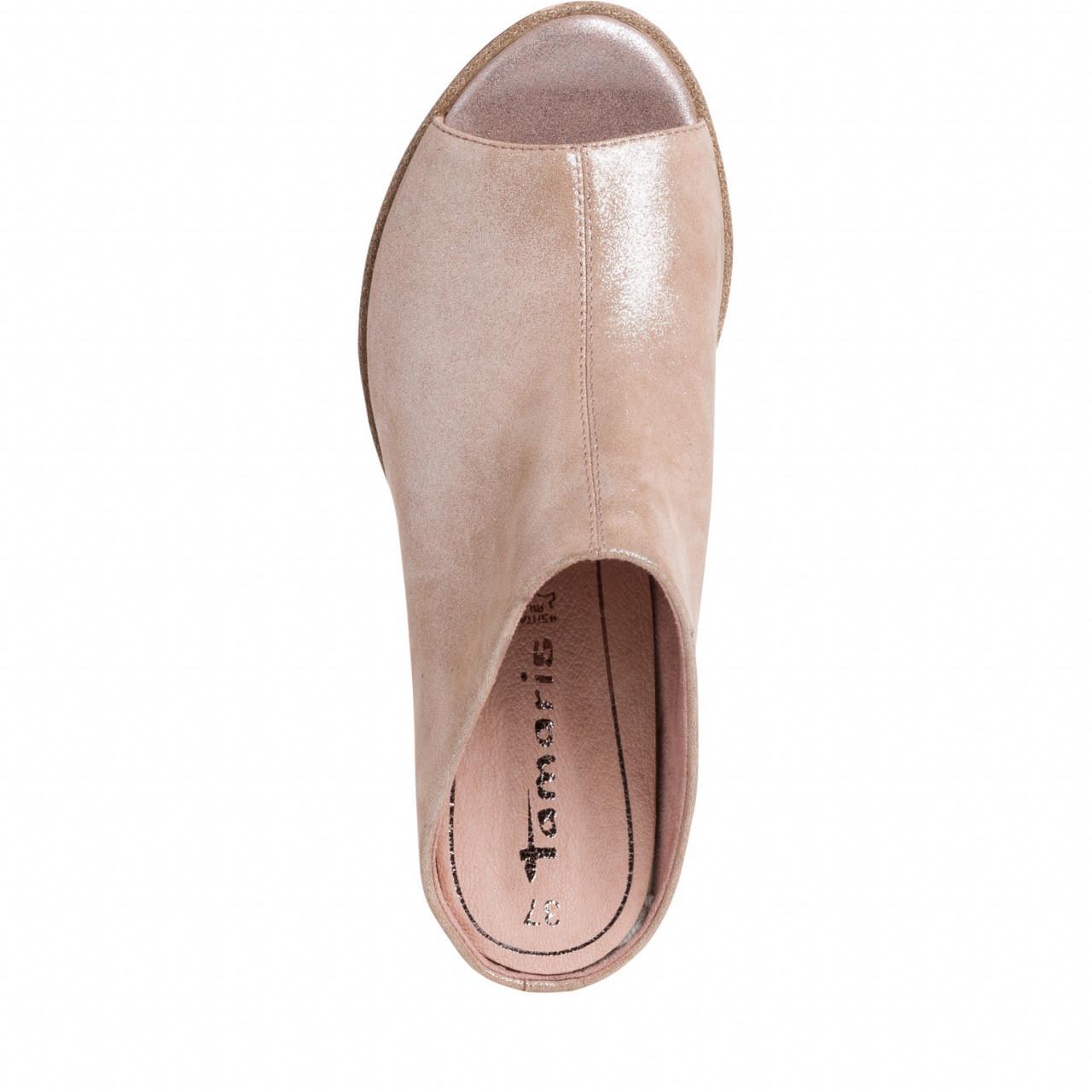 Rosa sandaler fra Tamaris