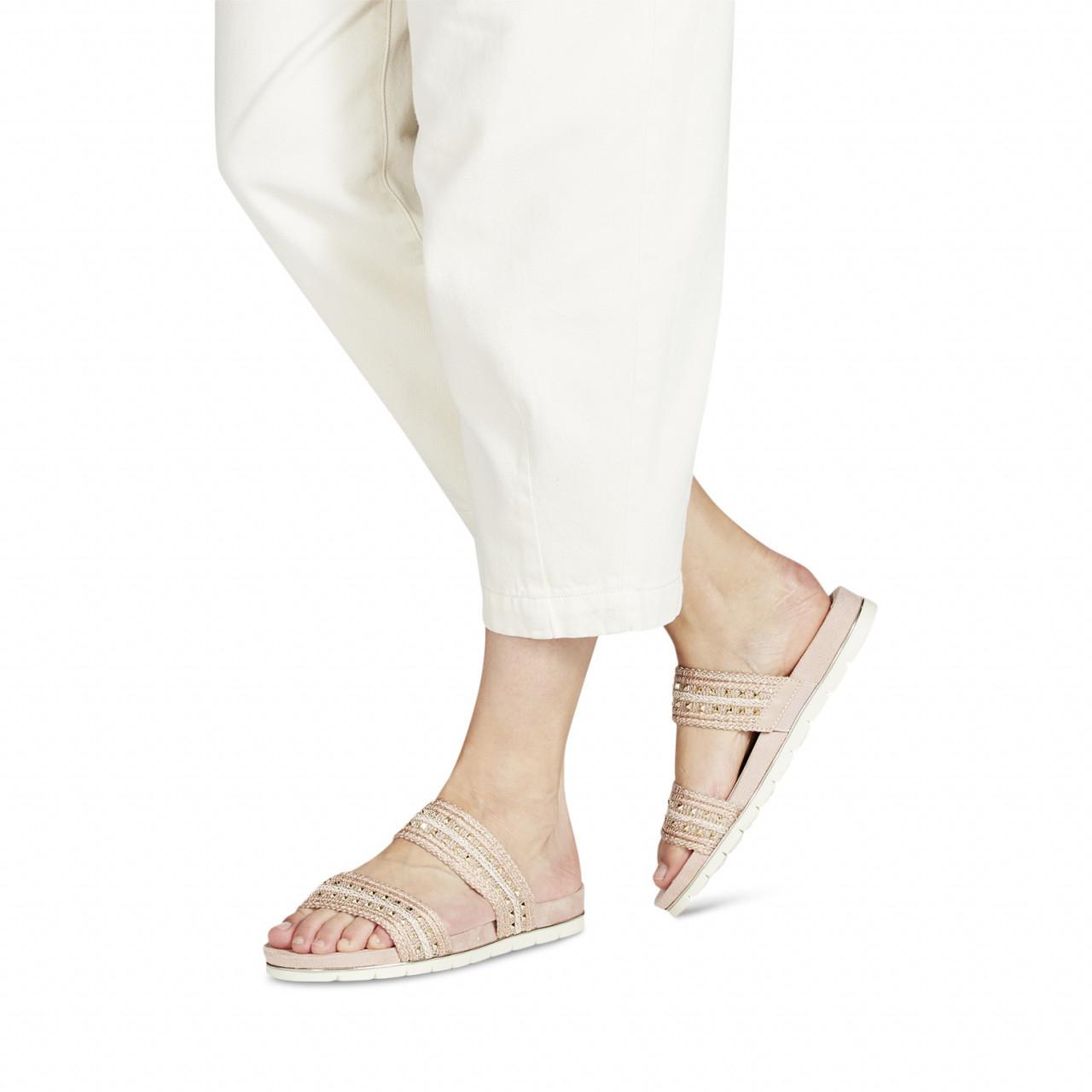 Tamaris sandaler med gull
