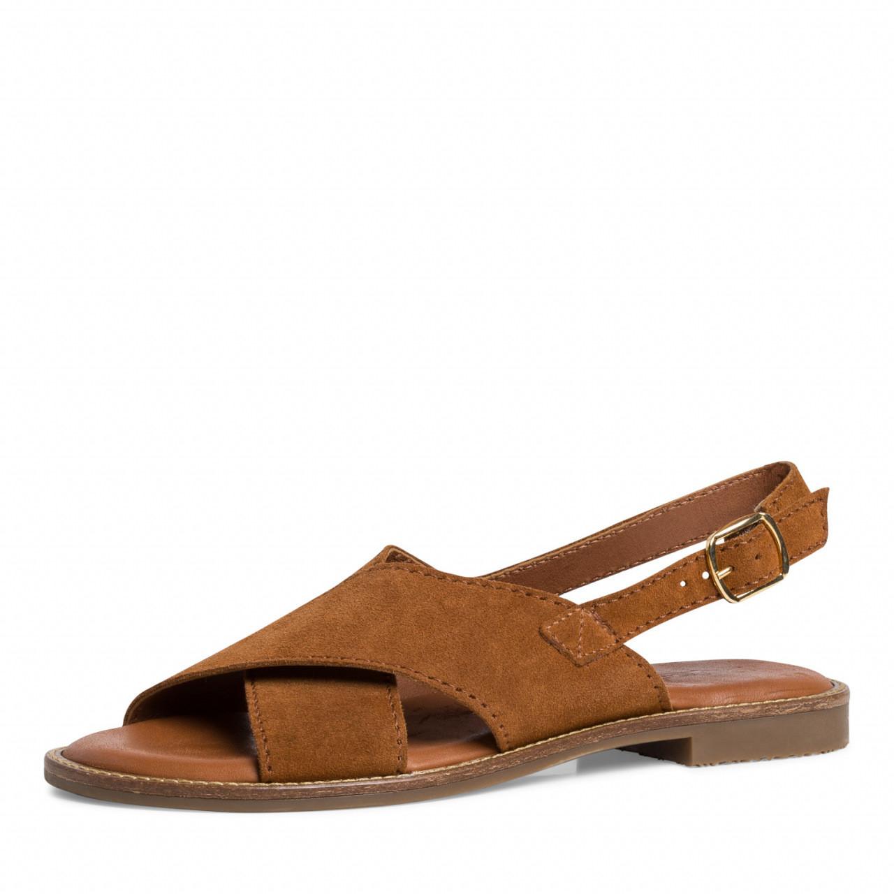 Tamaris sandaler semsket skinn