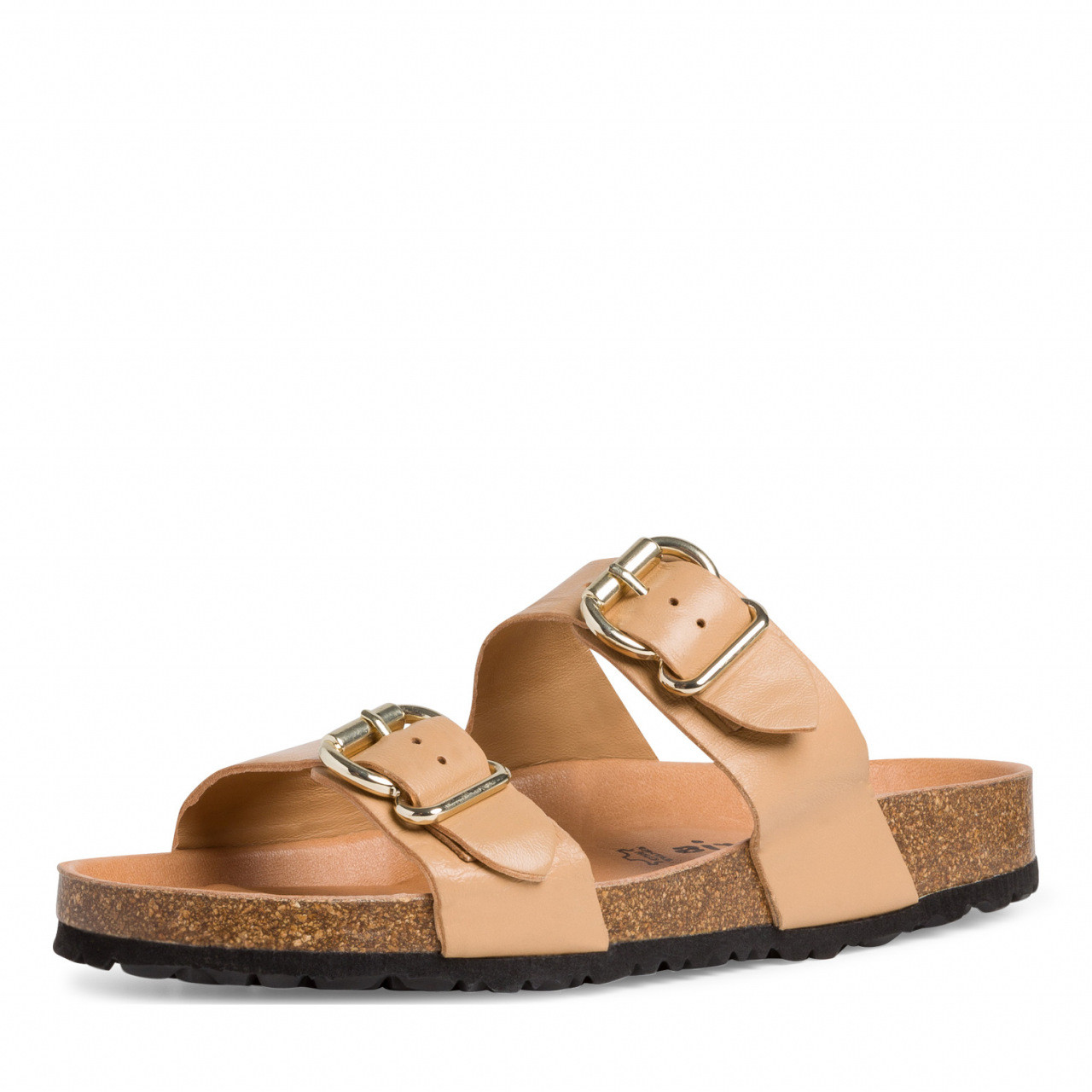Tamaris beige sandal skinn