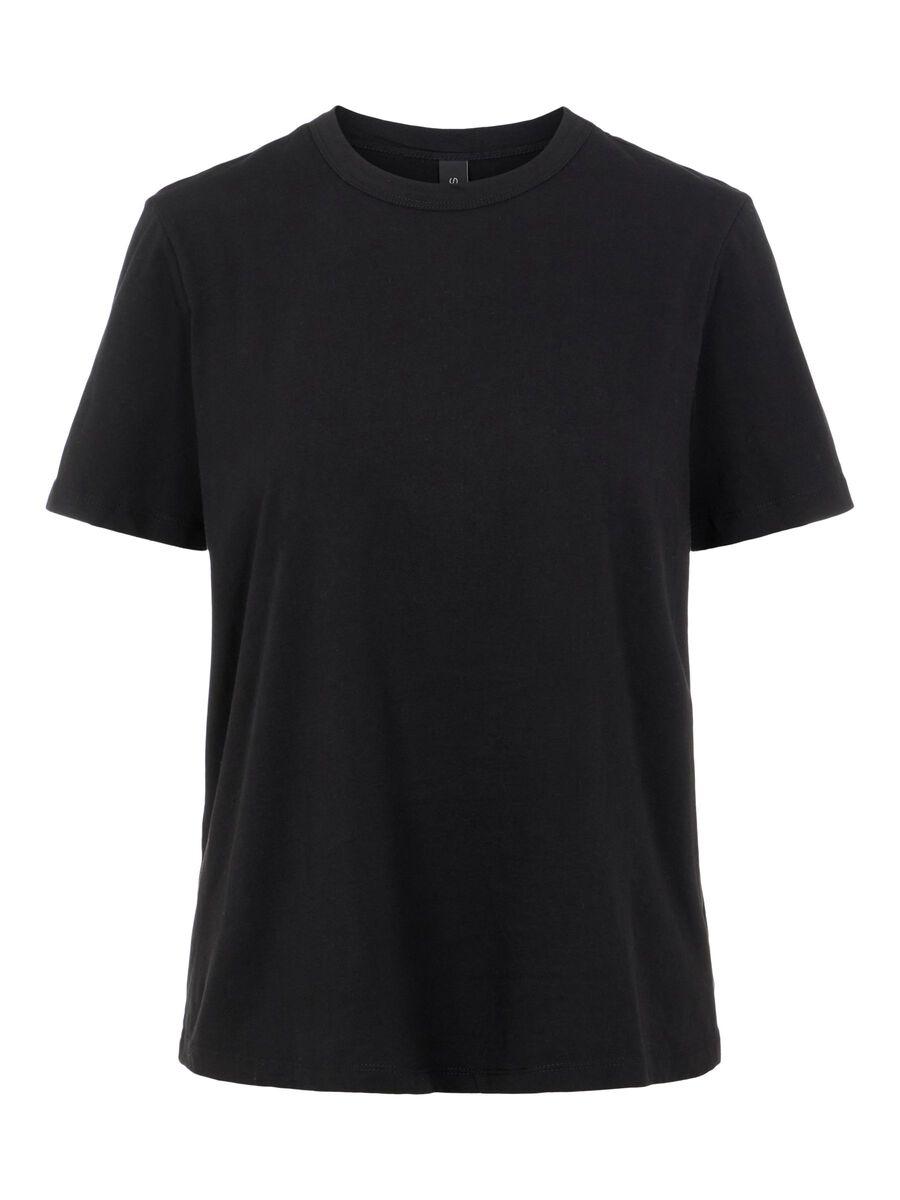 Svart t-skjorte fra Yas