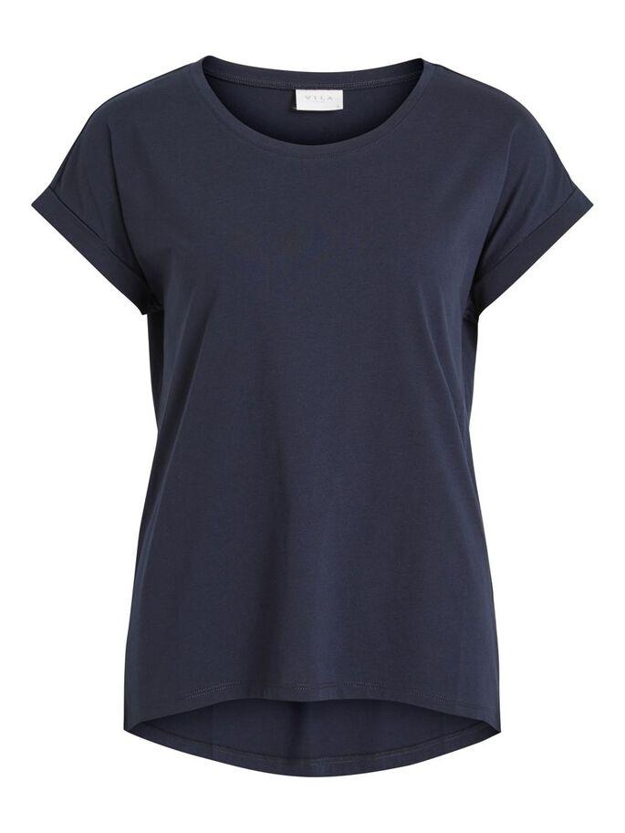 Vila marineblå t-skjorte