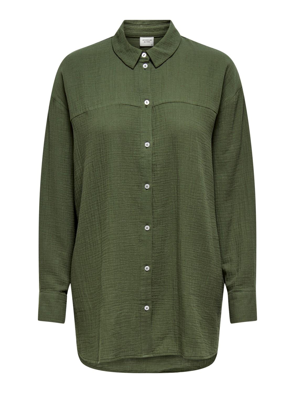 Grønn skjorte jdy