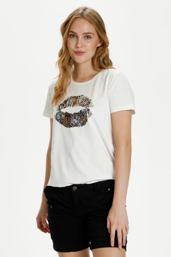 Hvit t-skjorte fra Culture