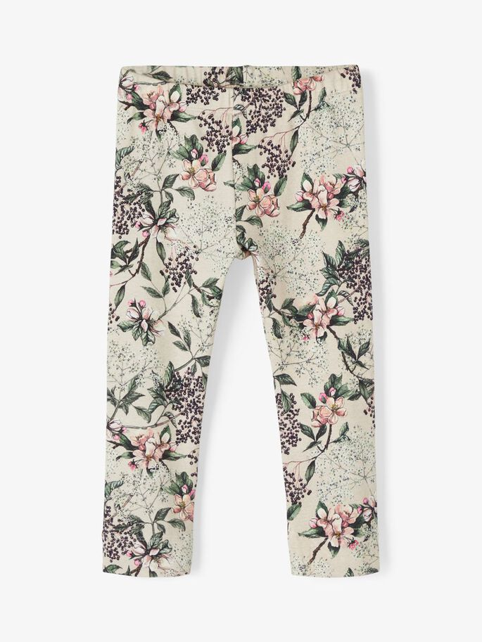 Tights med blomster Name It