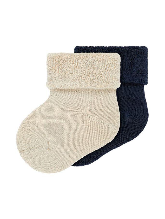 2-pk sokker til baby