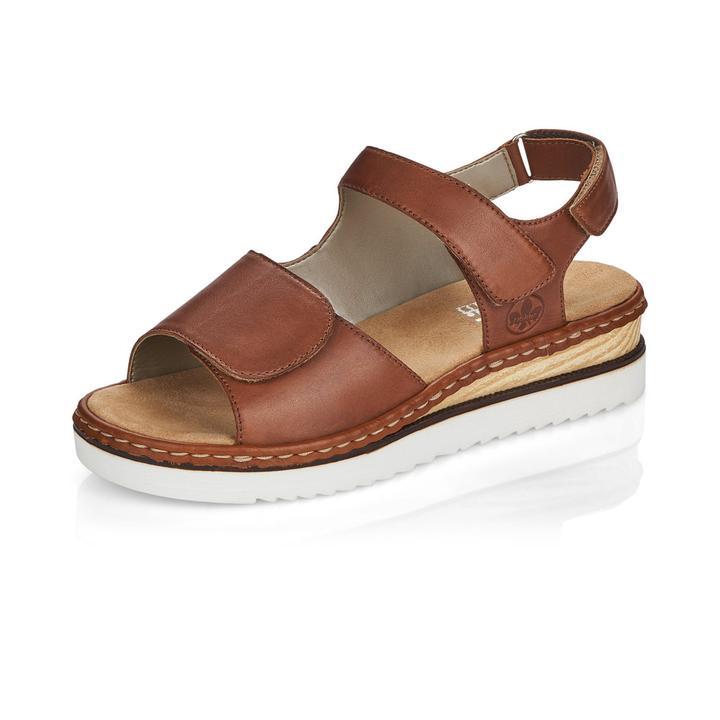 eker brun sandal m/regulering