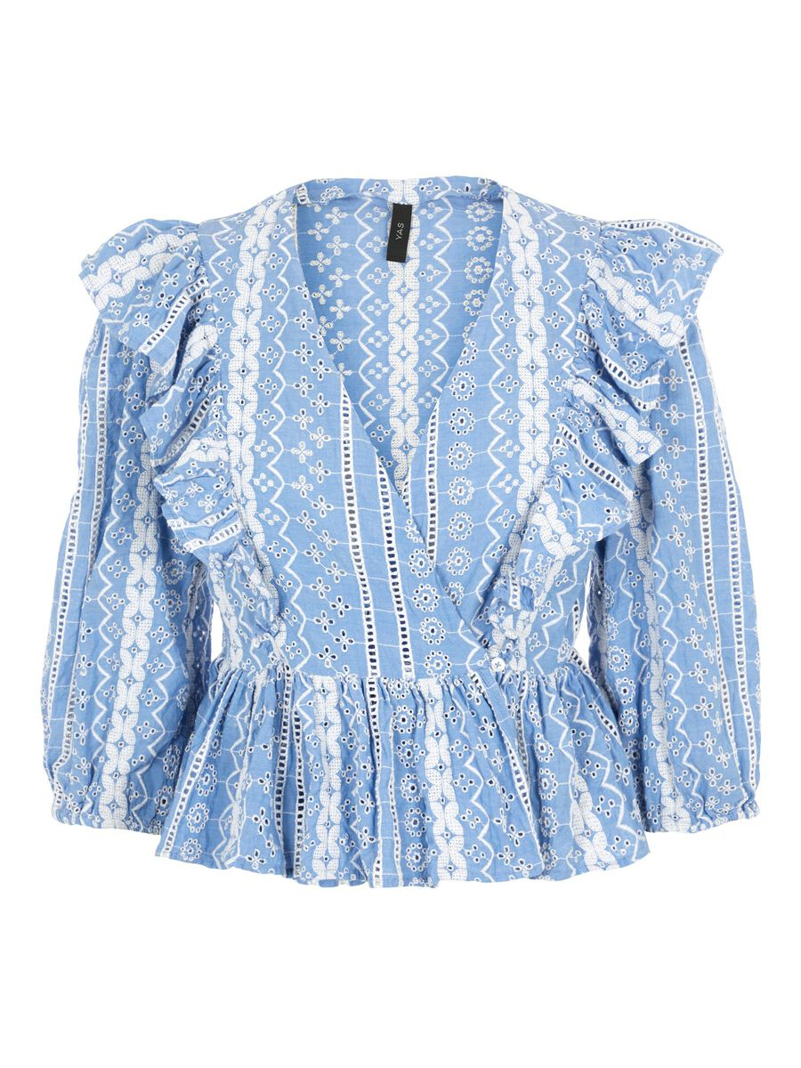 Lyse blå bluse fra Yas
