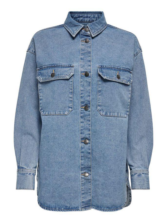 Denimskjorte og jakke Jdy