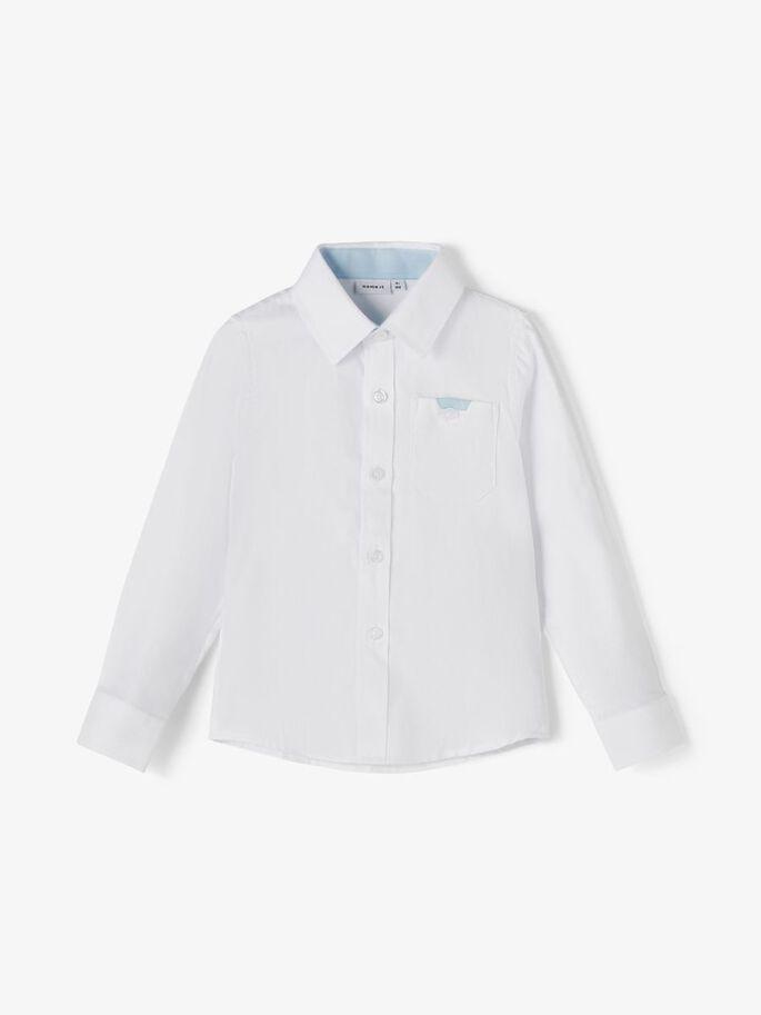 Hvit penskjorte til gutt