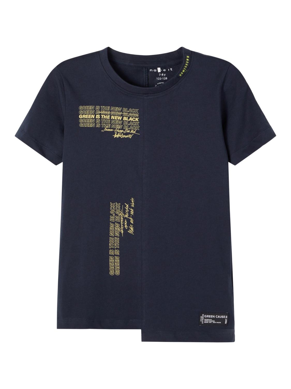 Blå t-skjorte Name It
