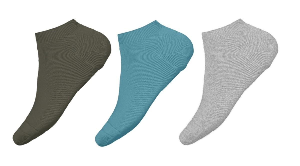 3 pk sokker til barn