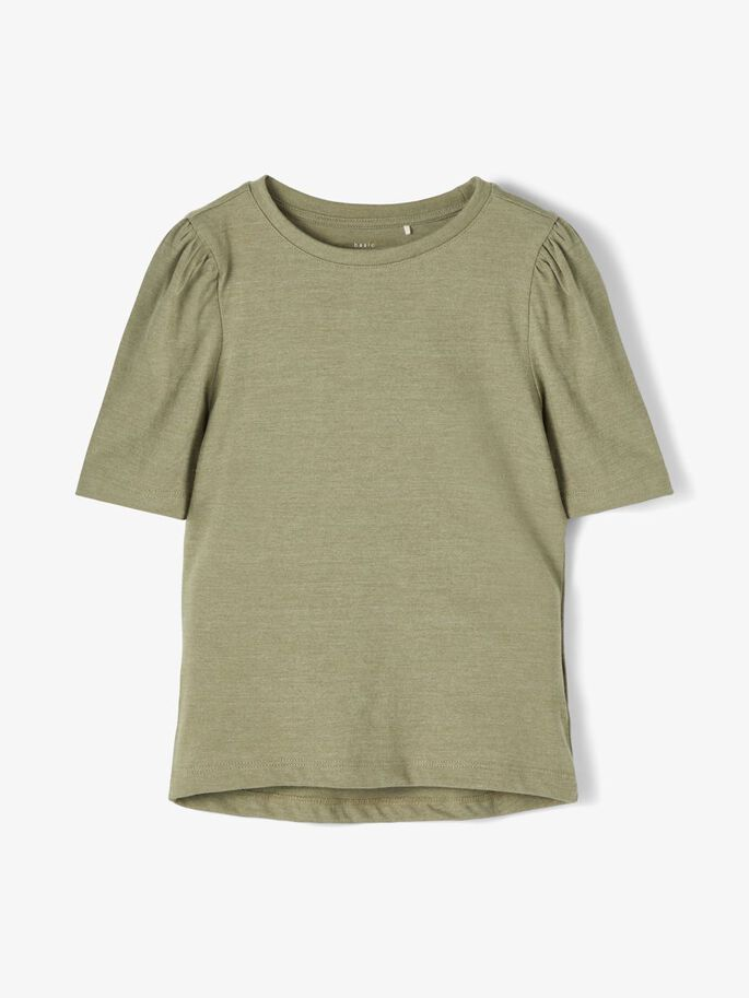 Grønn t-skjorte til jente