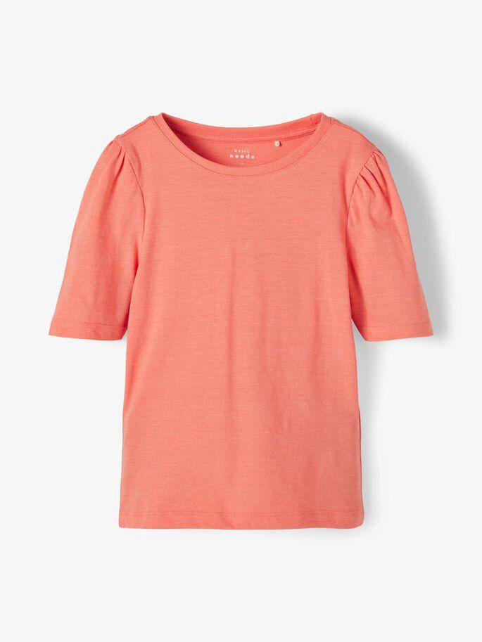Name It oransje t-skjorte