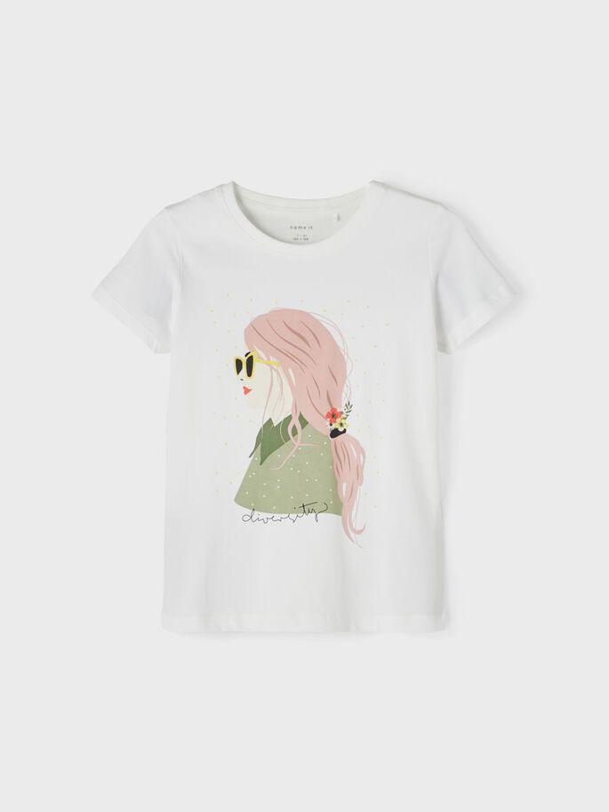 Hvit t-skjorte Hekena