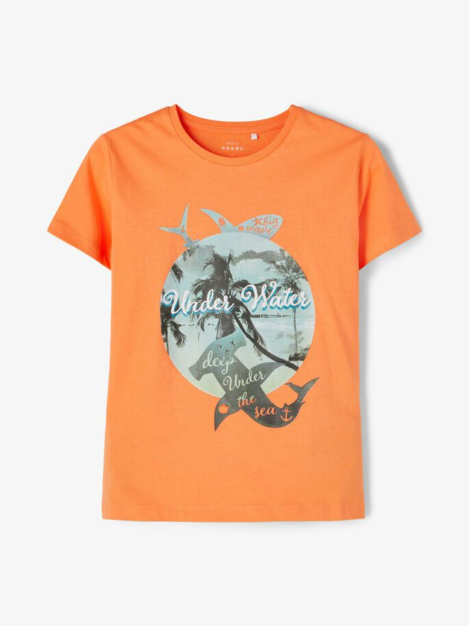 Oransje t-skjorte Vagno