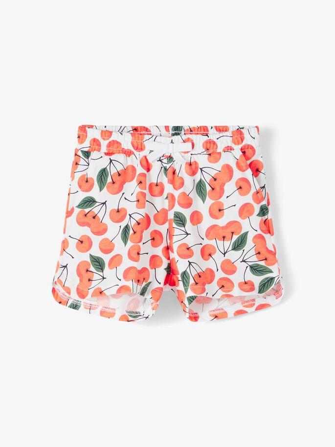 Oransje shorts Name It