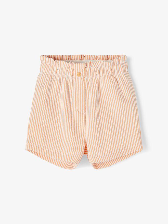 Oransje shorts Name It jente